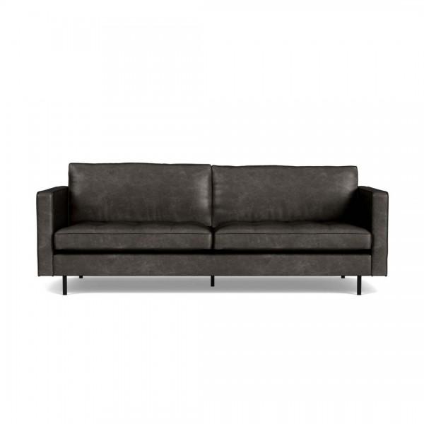 Sofa Rodeo Classic Schwarz 2,5-Sitzer von De Eekhoorn