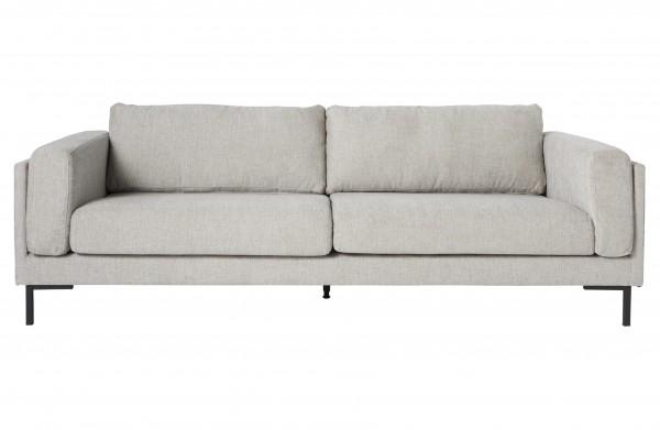 Sofa 3-Sitzer Stoff Natural
