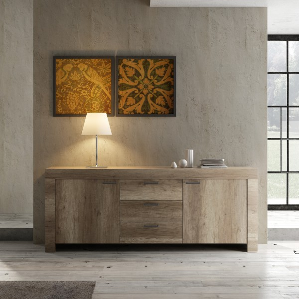 LC Spa Land Sideboard 210cm Canyon Oak