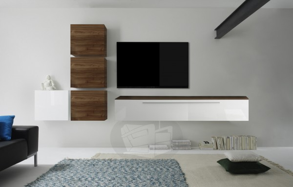 Wohnwand Infinity 6-teilig von LC Spa