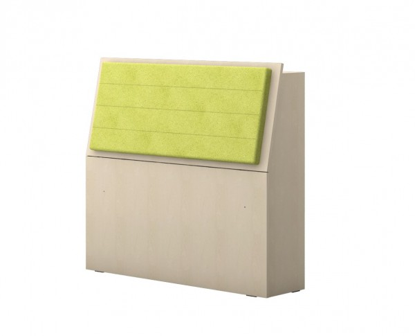 Aufbewahrungsbox für Einzelbett 20-G0206 grün