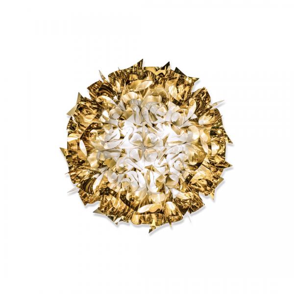 Veli Decken-/Wandleuchte L Gold von Slamp
