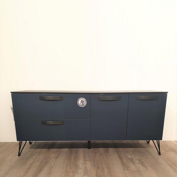Sideboard schwarz/blau von Rauch
