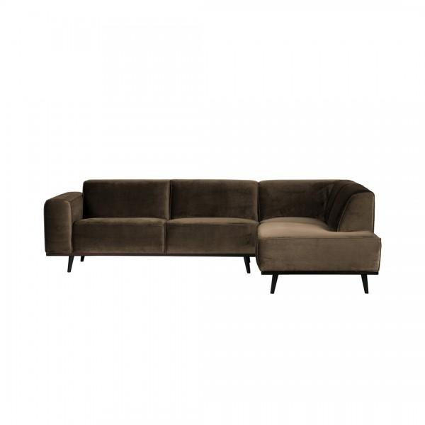 Sofa Statement Taupe Rechts von De Eekhoorn