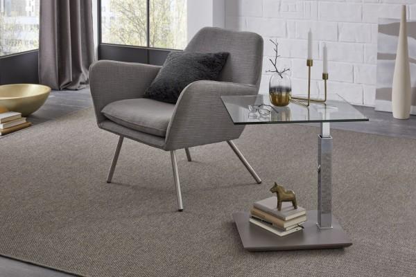 Couch-Beistelltisch 55x47cm mit Hydro Lift verschiedene Ausführungen
