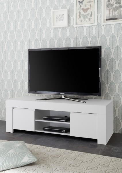 TV Schrank Firenze Weiß 138cm von LC Spa