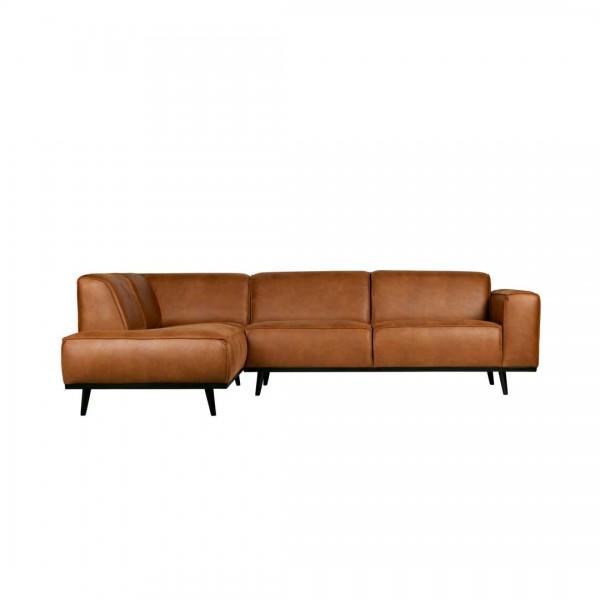 Couch Statement Links Cognac von De Eekhoorn