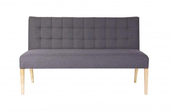Sitzbank 156cm in Stoff verschiedene Farben