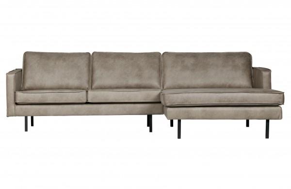 Sofa 3-Sitzer elephant skin Chaiselongue rechts
