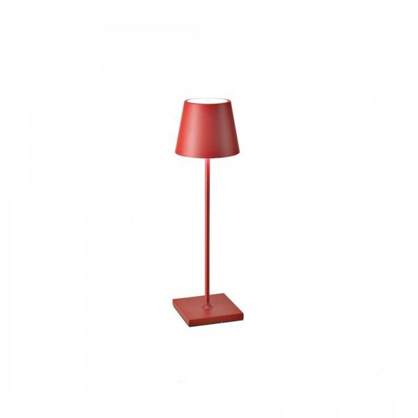 LED-Tischleuchte Poldina Pro Rot von AI LATI