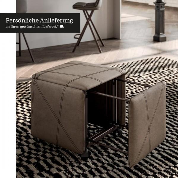 Hocker / Stuhl Cubix von Ozzio Italia