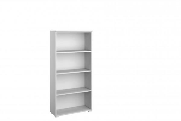 Standregal 69cm alpinweiß oder grau metallic/Beton Optik