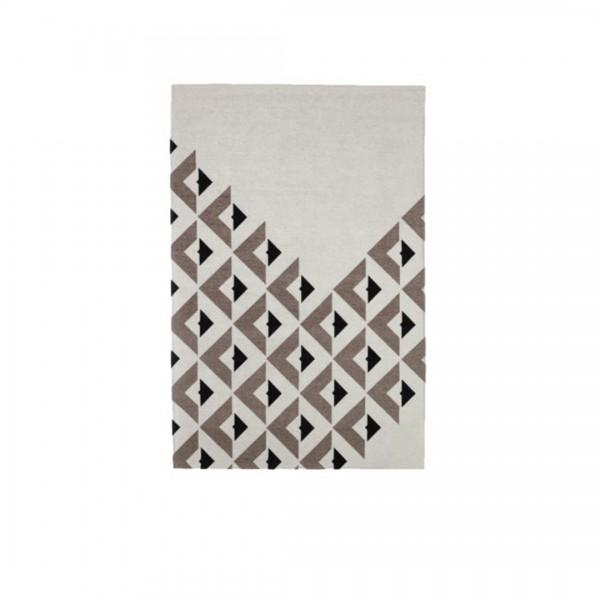 Teppich Schwarz/Weiß von Egoitaliano