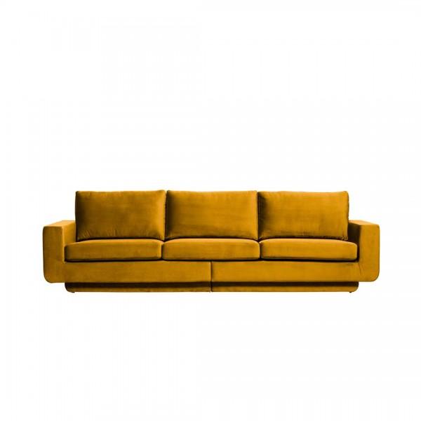 Sofa Fame 3-Sitzer Ocker von De Eekhoorn