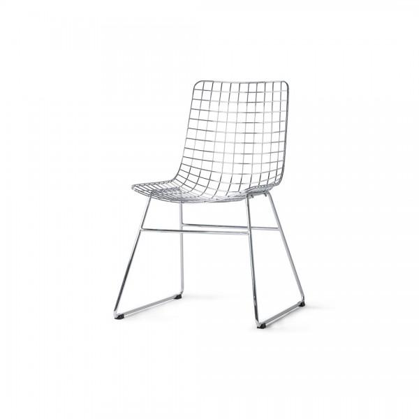 Stuhl Wire Silber von HKliving
