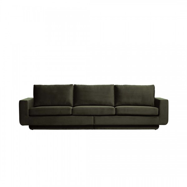 Sofa Fame 3-Sitzer Dunkelgrün von De Eekhoorn