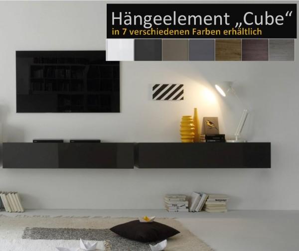Hängeelement Cube (waagerecht) verschiedene Farben