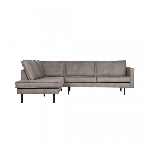 Couch Rodeo Grau Links von BePureHome