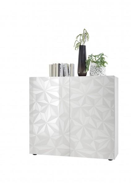 Highboard Prisma Weiß von LC Spa