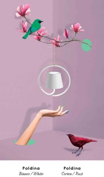 LED-Hängeleuchte 20cm dimmbar wiederaufladbar für Innen & Außen