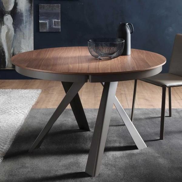 Tisch Emisfero Legno von Ozzio Italia