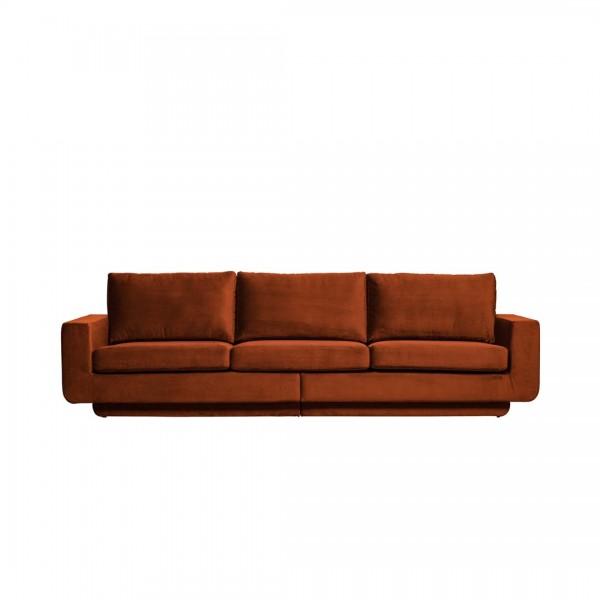 Sofa Fame 3-Sitzer Rost von De Eekhoorn