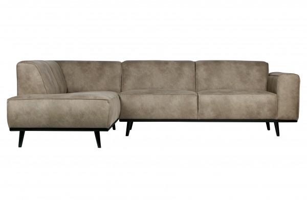 Couch Statement Grau Links von BePureHome