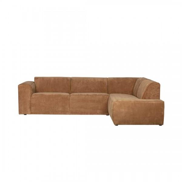 Couch Luna Honiggelb Rechts von De Eekhoorn