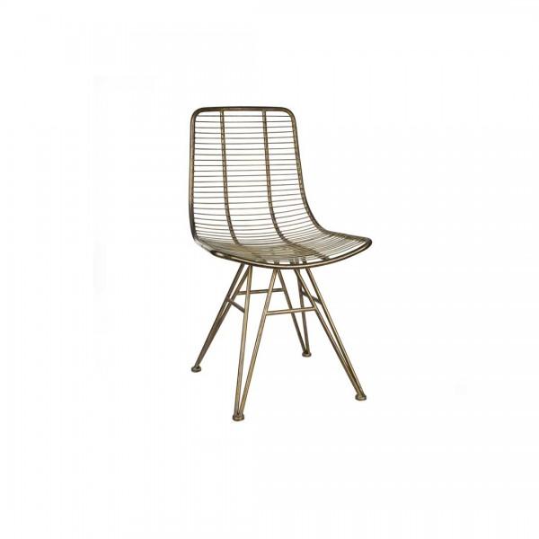 Stuhl Wire Gold von Ariart