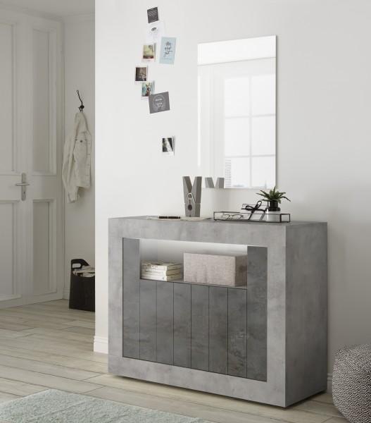 Sideboard Urbino Beton/Anthrazit 110cm von LC Spa