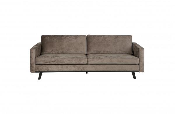 Sofa 3-Sitzer brushed braun