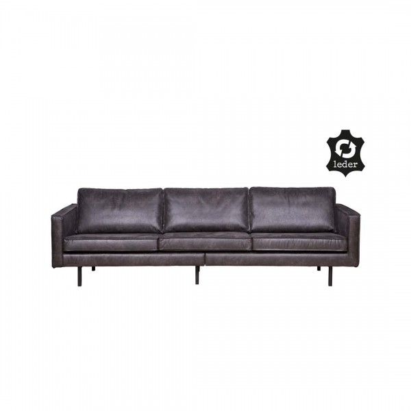Sofa Rodeo 3 Sitzer Schwarz von De Eekhoorn