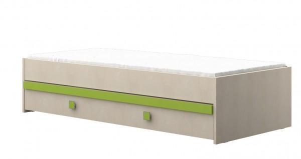 Bettschubkasten grün passend zu Funktionbett 20-G0206