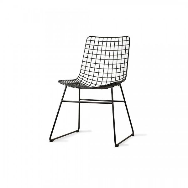 Stuhl Wire Schwarz von HKliving