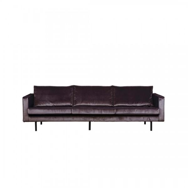 Sofa Rodeo 3-Sitzer Dunkelgrau von BePureHome