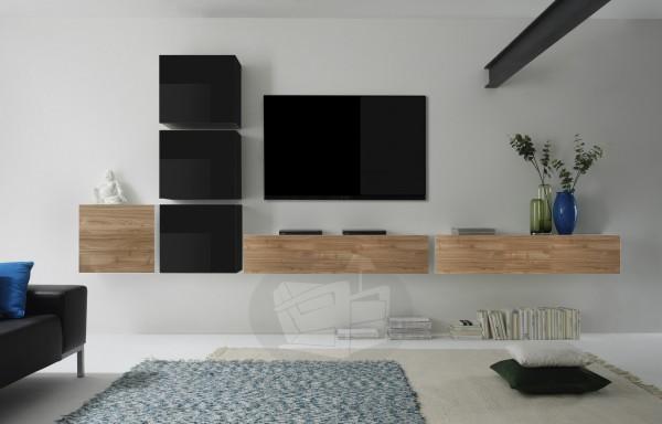 Wohnwand Cube 6-teilig von LC Spa