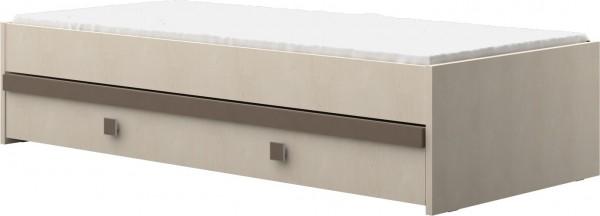 Bettschubkasten coffee passend zu Funktionbett 20-G0206
