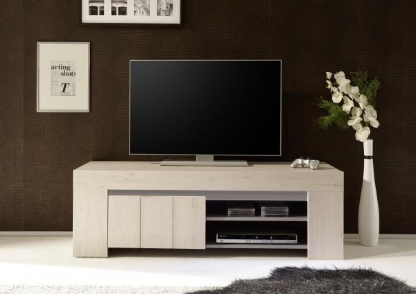 TV Lowboard 140cm Eiche Hell/beige