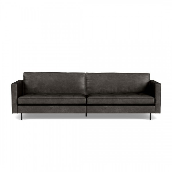 Sofa Rodeo Classic Schwarz 3-Sitzer von De Eekhoorn