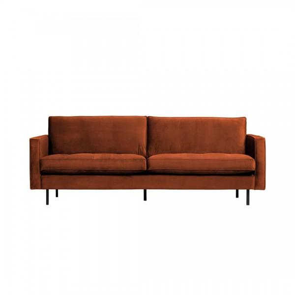 Sofa Classic 2,5 Sitzer Rost von BePureHome
