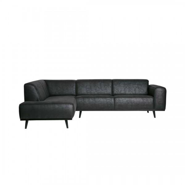 Sofa Statement Schwarz Links von De Eekhoorn