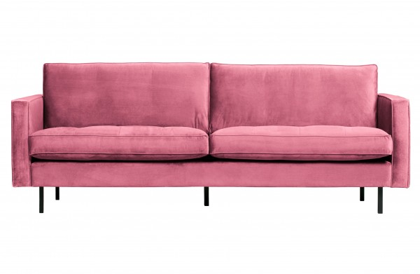 Sofa Classic 2,5 Sitzer Pink von BePureHome