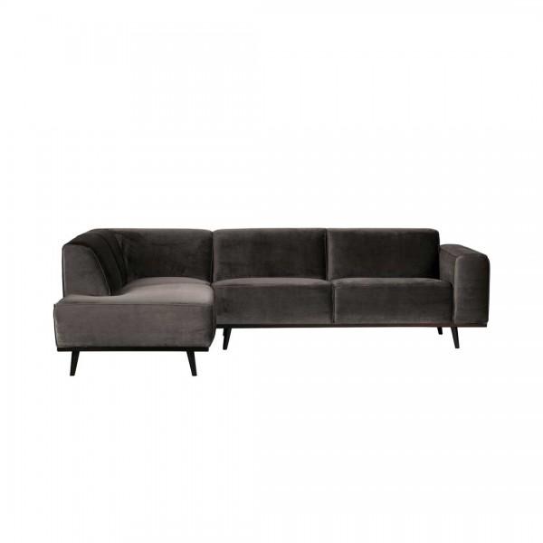 Couch Statement Taupe Links von De Eekhoorn
