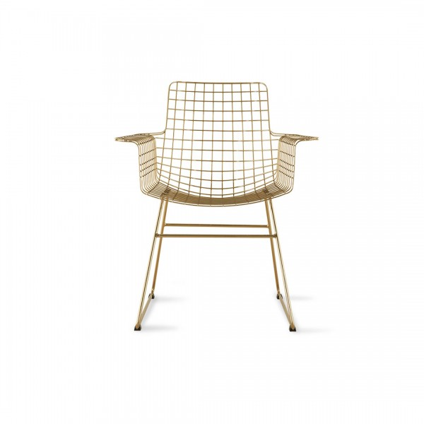 Stuhl Metall Brass von HKliving