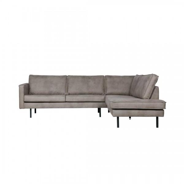 Couch Rodeo Grau Rechts von BePureHome