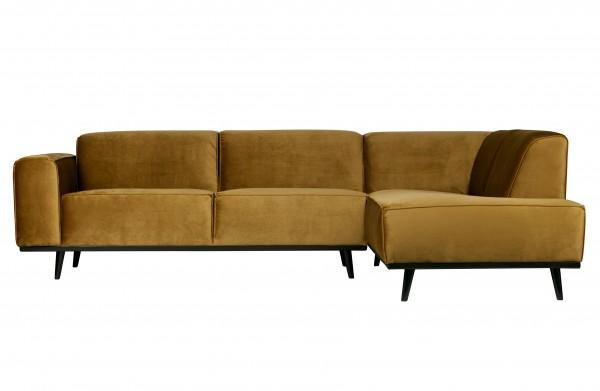 Couch Statement Honiggelb Rechts von De Eekhoorn