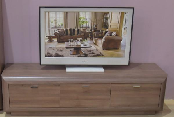 TV Unterteil halbrund180cm Eiche
