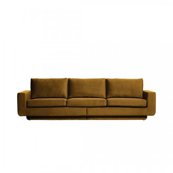 Sofa Fame 3-Sitzer Honiggelb von De Eekhoorn