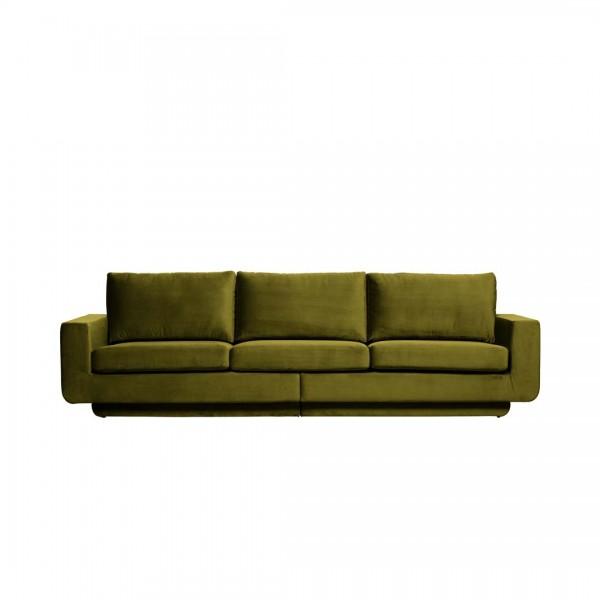 Sofa Fame 3-Sitzer Olive von De Eekhoorn