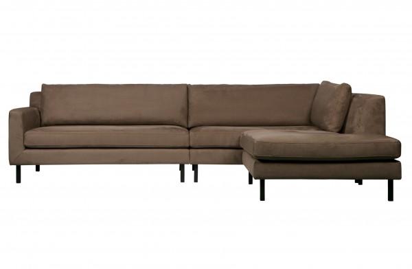 Couch Lounge Taupe Rechts von De Eekhoorn